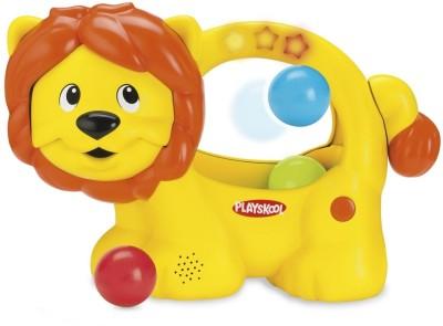 Playskool Poppin Park Learn n Pop Lion(Multicolor)