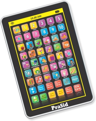 Prasid My Pad Mini English Learning Tablet for Kids - Indian Voice(Black, White)  available at flipkart for Rs.309