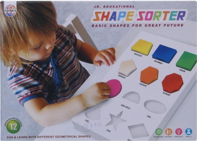 Ratnas shape sorter junior Multicolor Ratnas Educational Toys