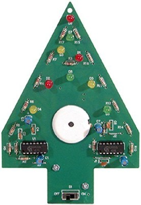 Elenco Christmas Tree Soldering Kit With Iron And Solder(Multicolor)  available at flipkart for Rs.4684