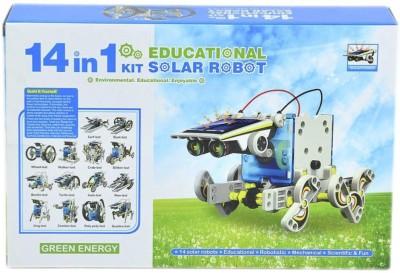 66% OFF on Emob 14 in 1 Educational Solar Robot Kit ...