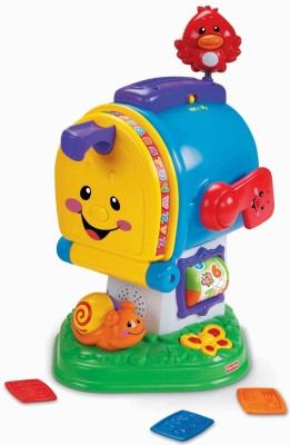 Fisher-Price Laugh & Learn™ Learning Letters Mailbox(Multicolor)