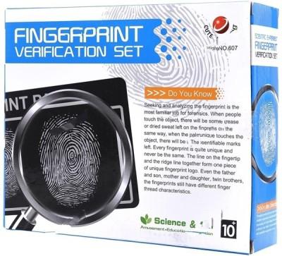 DIY Educational Scientific Experiment Fingerprint Verification Set Game(Multicolor)