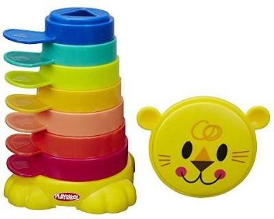 Playskool Stack 'n Stow Cups(Multicolor)