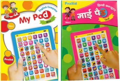 Prasid Mini My Pad English & Hindi(Multicolor)  available at flipkart for Rs.539