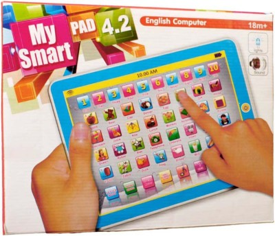 Prasid My smart Pad English Computer(Multicolor)  available at flipkart for Rs.409