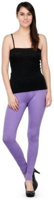 Oleva Churidar  Legging(Purple, Solid)