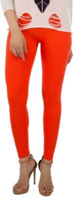 Dimpy Garments Churidar  Legging(Orange, Solid) at flipkart