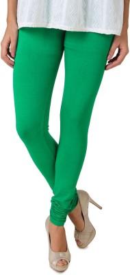 Fasense Legging(Green, Solid) at flipkart