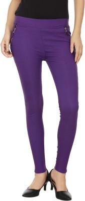Lambency Purple Jegging(Solid)