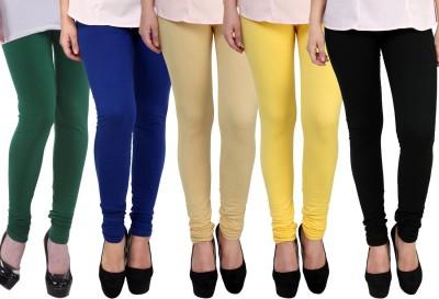 e\'HiOSe Legging For Girls Multicolor e\'HiOSe Kids\' Leggings and Churidars