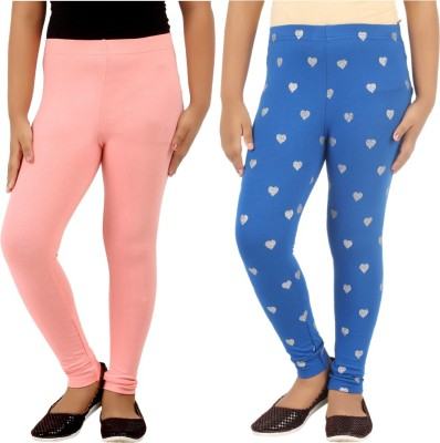 Lil Orchids Legging For Girls(Multicolor) at flipkart