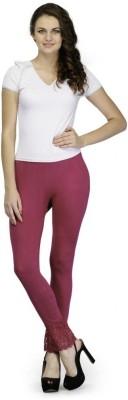 Oleva Churidar  Legging(Pink, Solid)