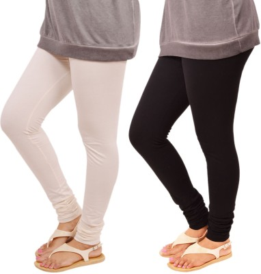 Leggings World Legging White, Black, Solid