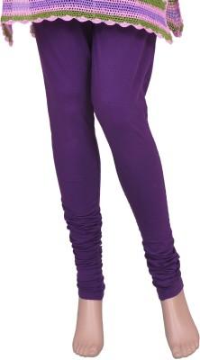 Saashiwear Legging(Purple, Solid) at flipkart