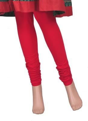 Saashiwear Legging(Red, Solid) at flipkart