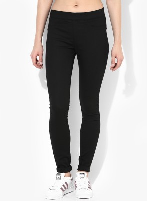 Only Black Jegging(Solid) at flipkart