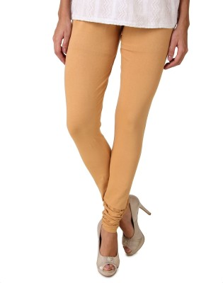 Fasense Legging(Brown, Solid) at flipkart