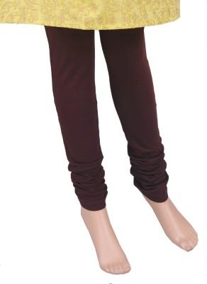 Saashiwear Legging(Brown, Solid) at flipkart