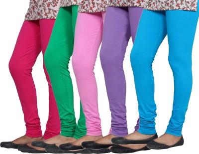 Tullis Legging(Purple, Green, Blue, Pink, Solid) at flipkart
