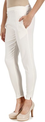 Kaaya White Jegging Solid Kaaya Women's Jeggings