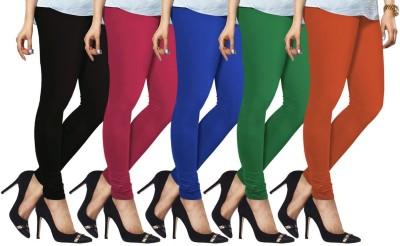Lux Lyra Legging(Black, Pink, Light Blue, Dark Green, Orange, Solid)