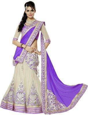 Sangi Embellished Women's Lehenga, Choli and Dupatta Set(Stitched)