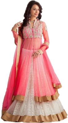 edeal online Embroidered Women's Lehenga Choli(Stitched)