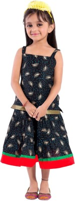 Decot Paradise Girls Casual Top Skirt(Black)