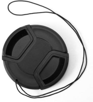 Omax 58 mm Center Pinch Lens Cap(Black) 1