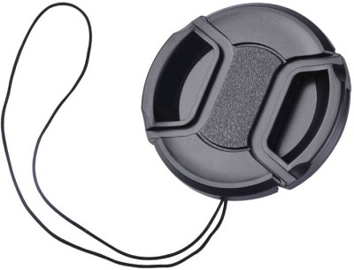 Axcess 67 mm Center Pinched With String  Lens Cap(Black, 67 mm)