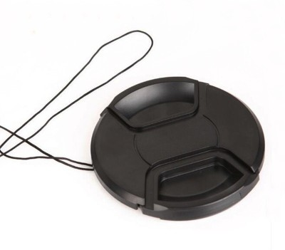 Axcess 55 mm Center Pinched With String Lens Cap Black, 55 mm