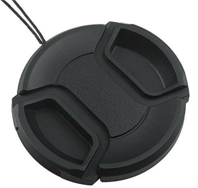 Axcess 77 mm Center Pinched With String Lens Cap Black, 77 mm