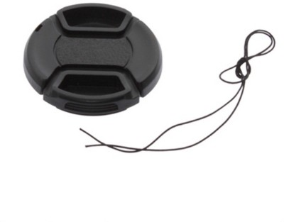 Axcess 52 mm Center Pinched With String Lens Cap Black, 52 mm
