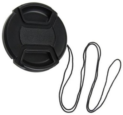 Axcess 58 mm Center Pinched With String Lens Cap Black, 58 mm