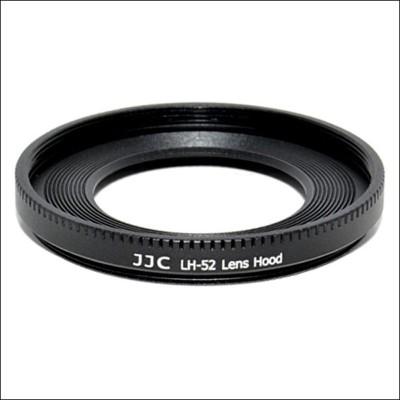 JJC LH-52  Lens Hood(Black)