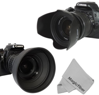 Goja KC0459 Lens Hood(58 mm, Black) 1