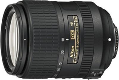 Nikon AF-S DX Nikkor 18-300 mm f/3.5-6.3G ED VR Lens Lens(Black, 85) 1
