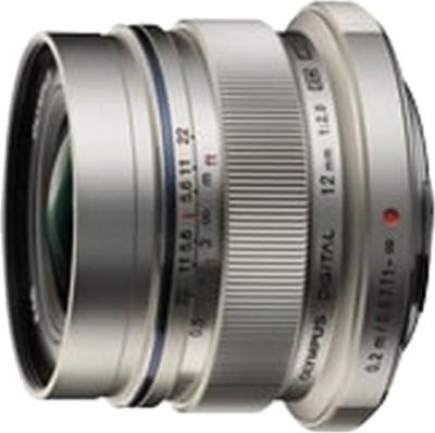 Olympus M.Zuiko Digital 12mm f/2.0  Lens(Silver, 315)