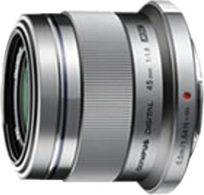 Olympus M.Zuiko Digital 45mm f/1.8  Lens(Silver, 14)