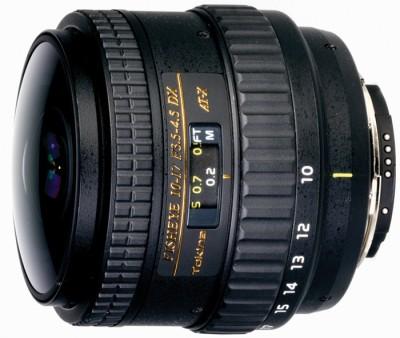 Tokina AF 10 - 17 mm f/3.5 - 4.5 AT-X 107 AF DX NH Fisheye for Nikon SLR Lens(Black) 1