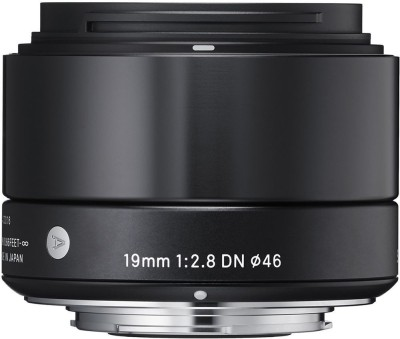 Sigma 19mm F/2.8 DN Sony e  Lens for Sony E Mount(Black, 15-30) at flipkart