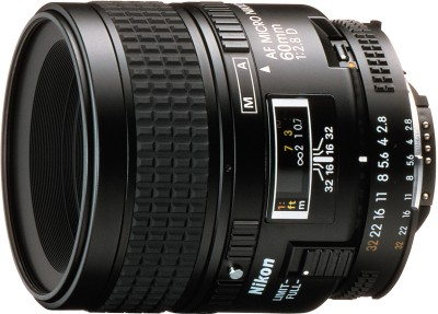 Nikon AF Micro-Nikkor 60 mm f/2.8D Lens Lens(Black) 1