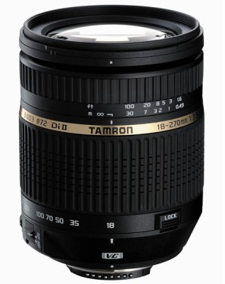 Tamron 18 - 270 mm F/3.5-6.3 Di-II VC PZD Aspherical (IF) Macro for Nikon Digital SLR Lens Lens(Black, 150 - 600) 1