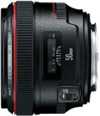 Canon EF 50 mm f/1.2L USM Lens  Lens(Black) 1
