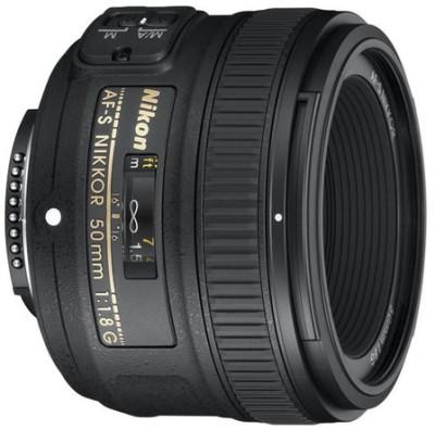 Nikon AF-S NIKKOR 50mm f/1.8G   Lens(Black, 90)