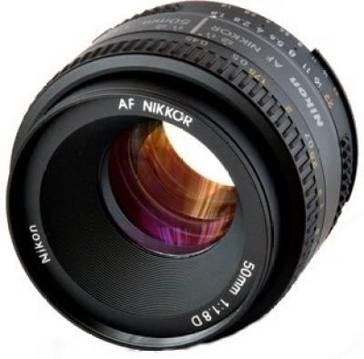 Nikon AF NIKKOR 50mm f/1.8D Lens Image
