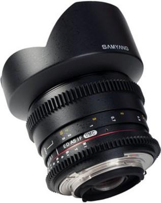 Samyang 14MM T3.1 VDSLR Canon Lens(Black, 18 to 55) 1