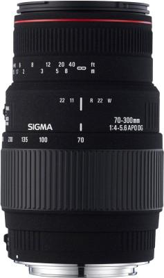 Sigma 70 - 300 mm F4-5.6 APO DG Macro Motorized for Sony Digtital SLR Lens(Black, 70 - 200) 1