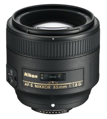 Nikon AF S Nikkor 85 mm Lens